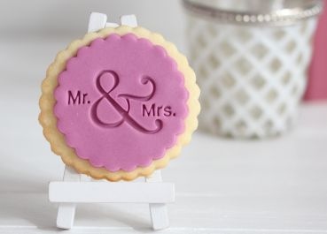 Mr. & Mrs. - Basic - Fondantstempel / Keksstempel