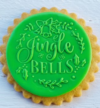 Jingle Bells - PoP UP - Fondantstempel -